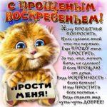 Прощеное воскресенье прикольная картинка скачать бесплатно на сайте otkrytkivsem.ru