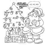 Раскраска открытка с новым годом скачать бесплатно на сайте otkrytkivsem.ru
