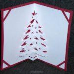 Рождественская объемная открытка скачать бесплатно на сайте otkrytkivsem.ru