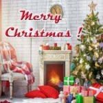 Рождественская открытка на английском скачать бесплатно на сайте otkrytkivsem.ru