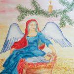 Рождественская открытка рисунок карандашом скачать бесплатно на сайте otkrytkivsem.ru