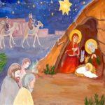 Рождество христово открытка рисунок скачать бесплатно на сайте otkrytkivsem.ru