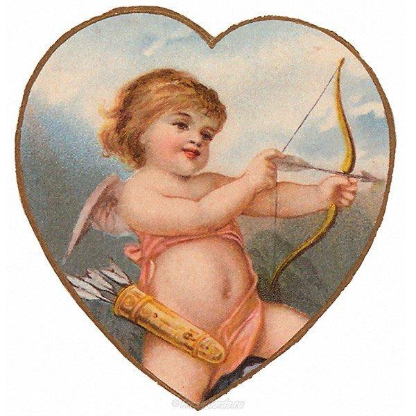 staraya otkrytka s dnem svyatogo valentina