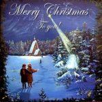 Старинная английская рождественская открытка скачать бесплатно на сайте otkrytkivsem.ru