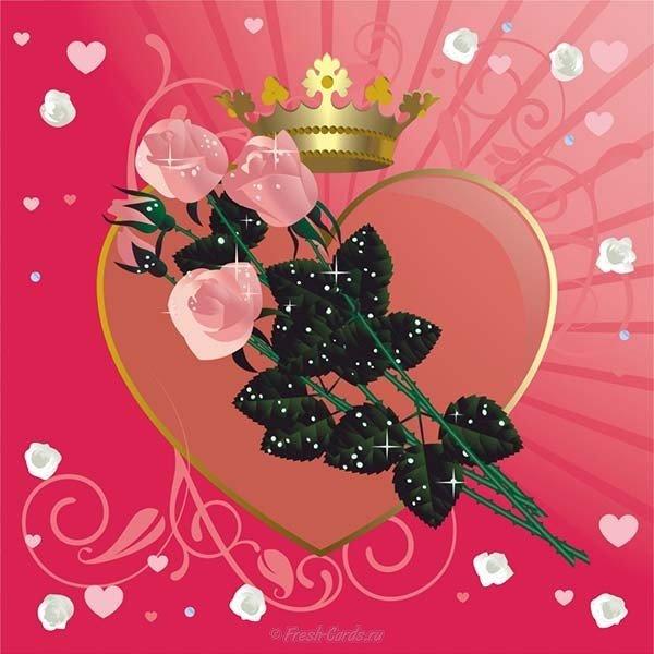 stilnaya otkrytka s dnem valentina