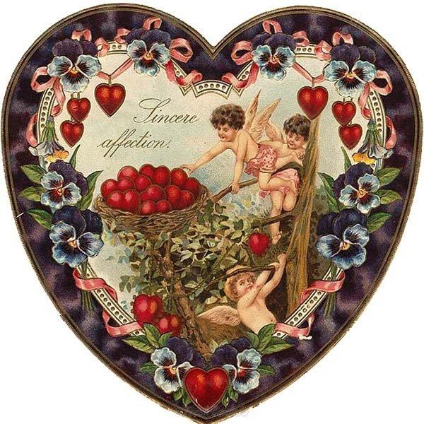 vintazhnaya otkrytka s dnem svyatogo valentina