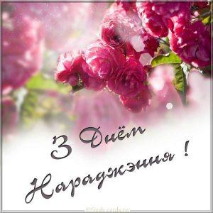 Открытка Белорусская на день рождения