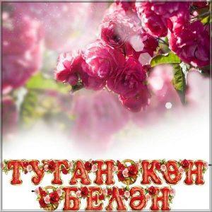 Открытка на день рождения на Башкирском языке
