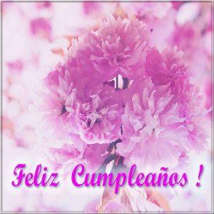 Открытка на день рождения на Испанском