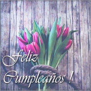 Картинка на день рождения на Испанском языке