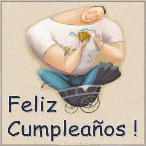 Открытка на день рождения на Испанском языке