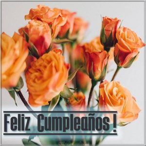 Испанская открытка на день рождения