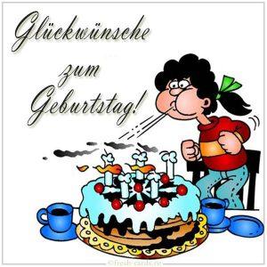 Немецкая картинка на день рождения