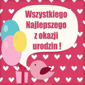 Польская картинка на день рождения