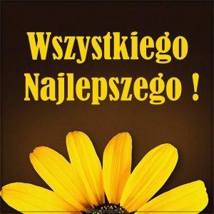 Польская картинка поздравление на день рождения