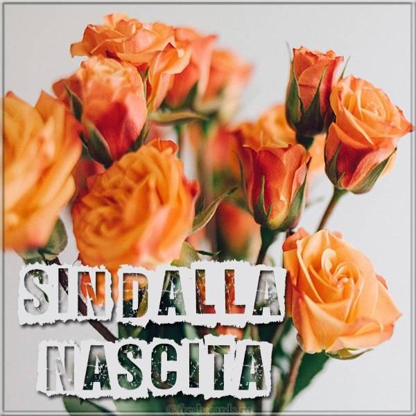 Итальянская картинка с цветами на день рождения