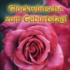 Немецкая открытка на день рождения для любимой