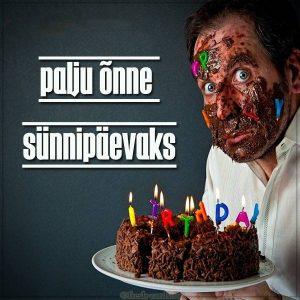 Эстонская картинка на день рождения