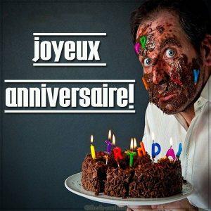 Картинка с днем рождения на Французском