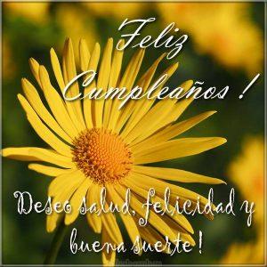 С днем рождения открытка по Испански