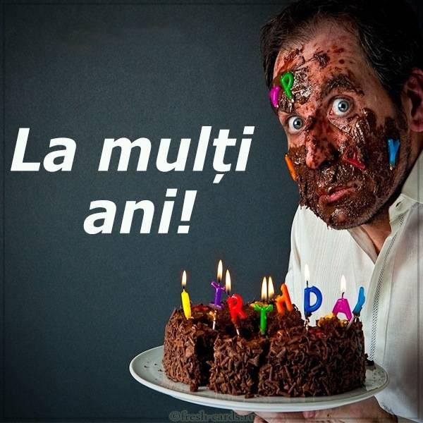Картинка с днем рождения на Румынском языке