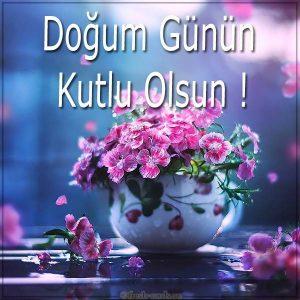 Картинка с днем рождения на Турецком языке