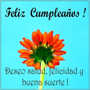 С днем рождения картинка по Испански