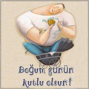 Картинка с днем рождения на Турецком