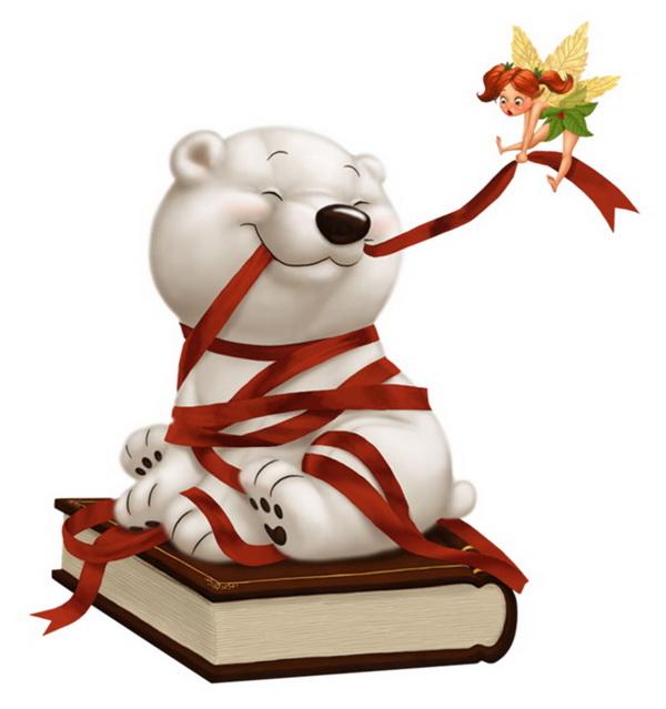 Белый медвежонок - скачать бесплатно на otkrytkivsem.ru