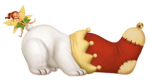 Белый мишка - скачать бесплатно на otkrytkivsem.ru