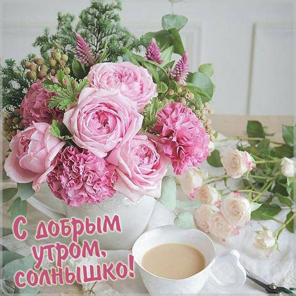 Бесплатная картинка с добрым утром солнышко - скачать бесплатно на otkrytkivsem.ru