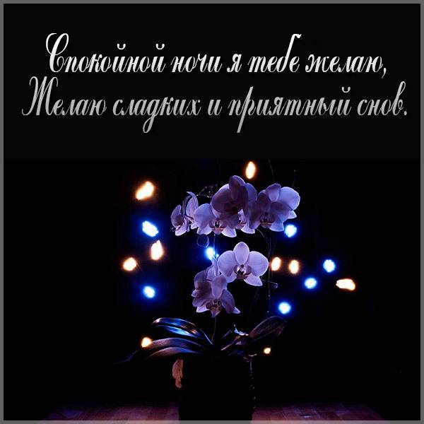 Бесплатная картинка со спокойной ночи - скачать бесплатно на otkrytkivsem.ru