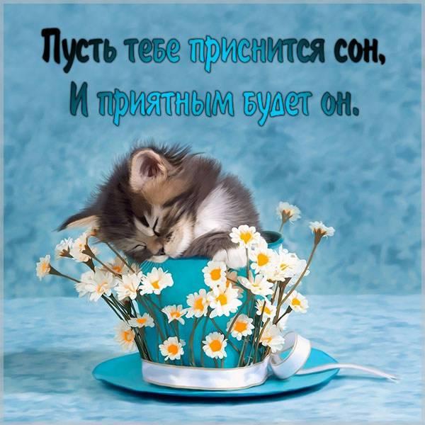 Бесплатная открытка приятных снов - скачать бесплатно на otkrytkivsem.ru