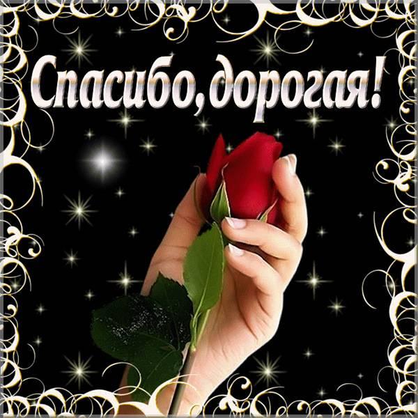 Бесплатная открытка спасибо подруге - скачать бесплатно на otkrytkivsem.ru