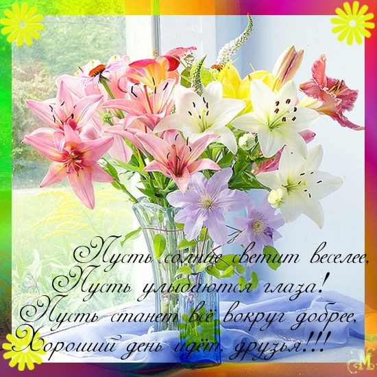 Доброго дня в стихах - скачать бесплатно на otkrytkivsem.ru