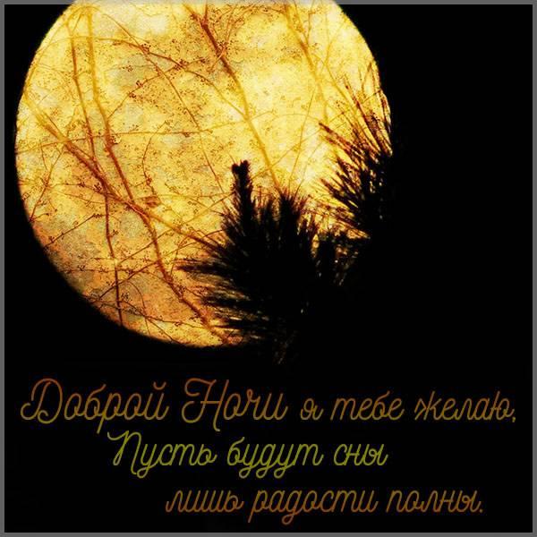 Фото картинка доброй ночи красивая необычнаяграфия - скачать бесплатно на otkrytkivsem.ru