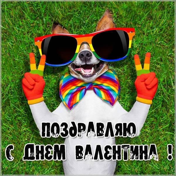 Фото открытка с днем Валентина - скачать бесплатно на otkrytkivsem.ru