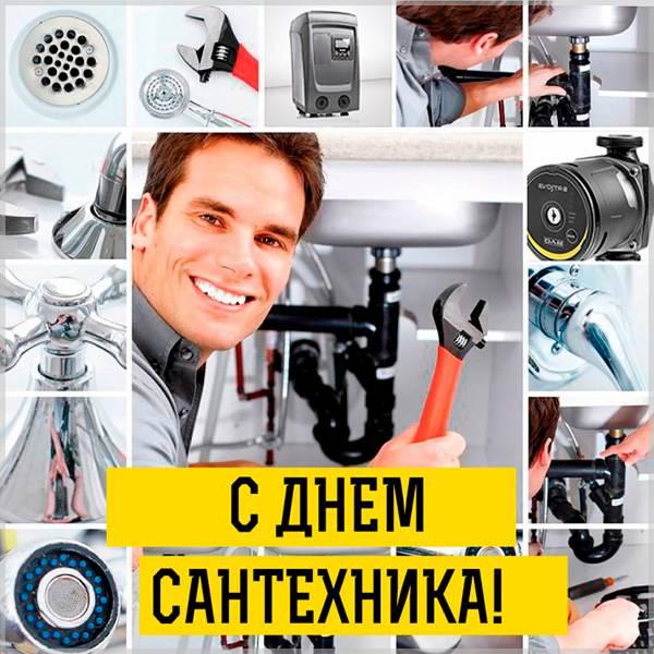 Фото с днем сантехника - скачать бесплатно на otkrytkivsem.ru