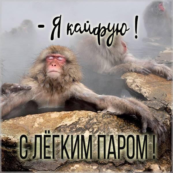 Фото с легким паром прикольное - скачать бесплатно на otkrytkivsem.ru
