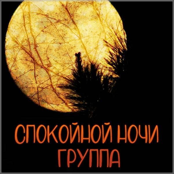 Фото спокойной ночи группа - скачать бесплатно на otkrytkivsem.ru