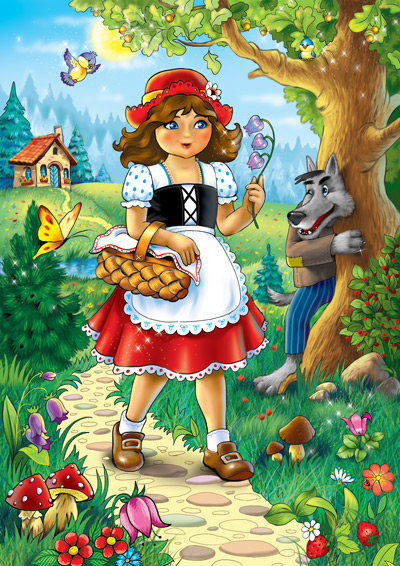 Изображение красной шапочки - скачать бесплатно на otkrytkivsem.ru