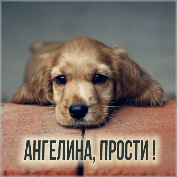 Картинка Ангелина прости - скачать бесплатно на otkrytkivsem.ru