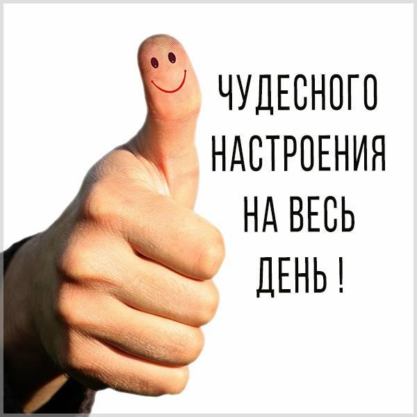 Картинка чудесного настроения на весь день - скачать бесплатно на otkrytkivsem.ru