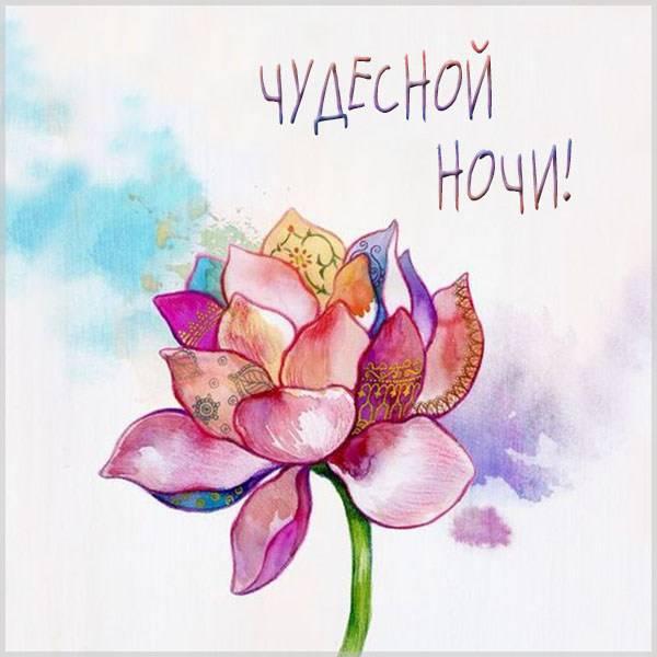 Картинка чудесной ночи красивая необычная - скачать бесплатно на otkrytkivsem.ru