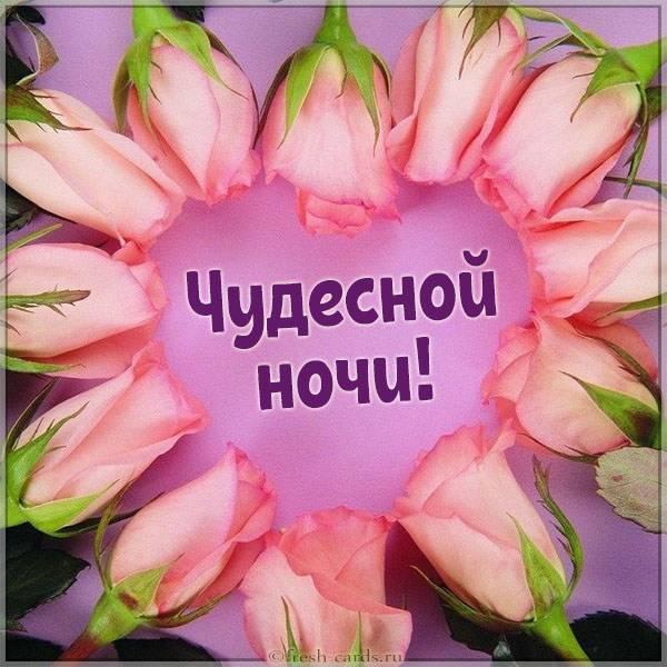 Картинка чудесной ночи - скачать бесплатно на otkrytkivsem.ru