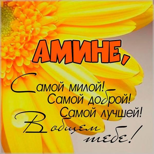 Картинка для Амины - скачать бесплатно на otkrytkivsem.ru