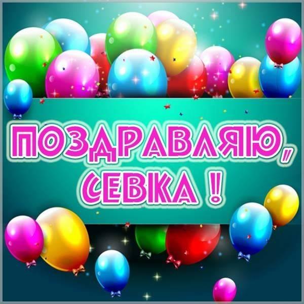 Картинка для Севки - скачать бесплатно на otkrytkivsem.ru