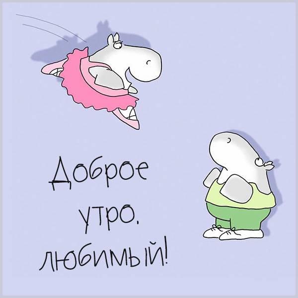 Картинка доброе утро день любимый прикольная - скачать бесплатно на otkrytkivsem.ru