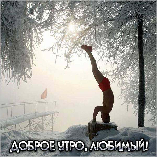 Картинка доброе утро любимый оригинальная - скачать бесплатно на otkrytkivsem.ru