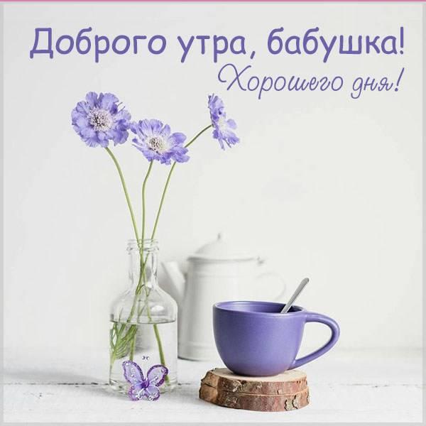 Картинка доброго утра хорошего дня для бабушки - скачать бесплатно на otkrytkivsem.ru